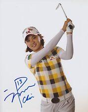 NA YEON CHOI SIGNED AUTO'D 8X10 PHOTO POSTER LPGA C