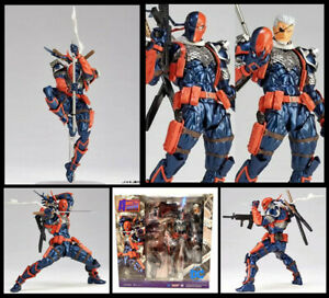 DC Justice League No 011 Deathstroke Action Figure Amazing Revoltech Kaiyodo Toy