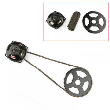 Mini New Pocket Bike 49cc Drive System T8F Chain & 6T Gear Box Rear Sprocket Kit