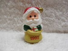 '92 Hallmark Merry Miniatures Jingle Bell Santa Series 3rd & Final Edition