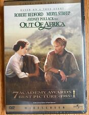 Brand New Out of Africa DVD Movie Film starring Robert Redford and Meryl Streep
