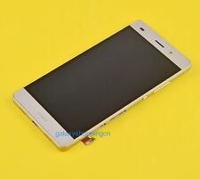 For Huawei P8 Lite 2016 Gold Full LCD Display Touch Screen Digitizer Panel Frame