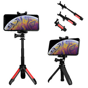 Portable Folding Desktop Tripod Selfie Stick Extendable Phone Stand Mount Holder