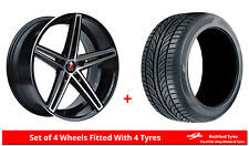 "Alloy Wheels & Tyres 18"" Axe EX14 For Honda CR-V [Mk3] 06-12"