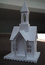 Tim Holtz Sizzix village logement Die Cut Kit HOUSE BUILDING Precut + Bell Tower