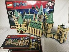 LEGO 4842 Harry Potter Hogwarts Castle, missing a couple elements