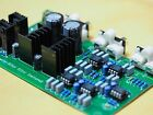 Linkwitz-Riley 2-way electronic crossover at 2.2KHz stereo changeable by user