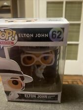 Funko Pop + Protector! Rock #62 Elton John Greatest Hits *Mint*