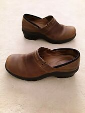 Ariat 93927 Brown Leather Western Slip On Shoes  Women 9.5