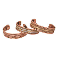 Healing Therapy Arthritis Pain Relief Bangle Cuff Magnetic Copper Bracelet