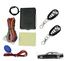Universal Door Locking Passive Keyless Entry System Car Remote Central Kit Tool