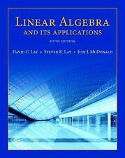 Linear Algebra and Its Applications by David C. Lay 5th Hardcover US Edition