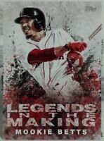 2018 TOPPS SERIES 1 LEGENDS IN THE MAKING INSERT CARD OF MOOKIE BETTS NO. LTM-MB