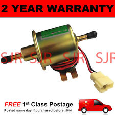 12V ELECTRIC UNIVERSAL PETROL DIESEL FUEL PUMP FACET CYLINDER STYLE KIT CAR
