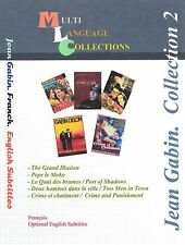 Jean Gabin Collection 2. 5 Movies. 5 Movies French, English Subs. 2DVD's set.