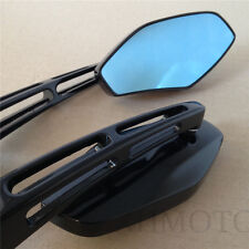 Racing Rearview Mirror fit For HONDA SUZUKI Kawasaki cruiser chopper sports BLK