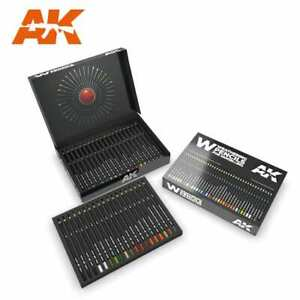 AK Interactive Weather Pencil sets The Full Range of AK Water Colour Pencil sets