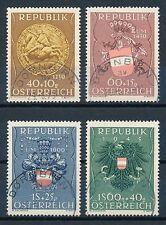 Gestempelte ungeprüfte Briefmarken österreichische