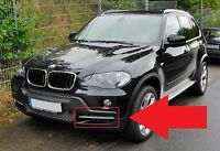 BMW X5 E70 2007-2010 NEW GENUINE FRONT BUMPER N/S LEFT GRILL WITH SILVER TRIM