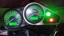GREEN zx6r g1 g2 led dash clock conversion kit lightenUPgrade