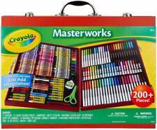 Crayola Masterworks Art Case, Over 200Piece, Gift for Kids, Age 4, 5, 6, 7 ( Exc