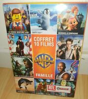 [DVD] Collection de 10 films FAMILLE Warner - NEUF SOUS BLISTER