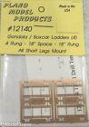 Plano HO #12140 Gondola/ Box car Ladders (Etched Metal)