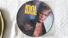 Billy Idol 12inch picture disc of Sweet Sixteen