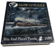 Glow In The Dark Train Jigsaw Puzzle Ted Blaylock NEW 1000 Pcs 2005 Alberta