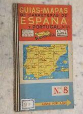 Guias-Mapas de Carreteras de Espana y Portugal No.8 1:400,000 undated
