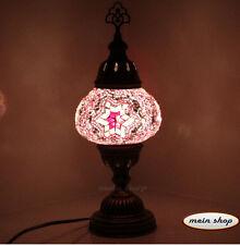 Mosaik Tischlampe Mosaiklampe 100% Handgearbeitet Orientalische Lampe (M)