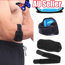 Adjustable Tennis Golf Elbow Support Brace Strap Band Forearm Protection BK