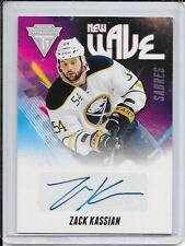 11-12 Titanium Zack Kassian New Wave Auto # 14