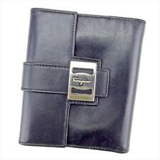 Auth Salvatore Ferragamo Double Sided Wallet Mens T4188