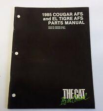 1985 Oem Arctic Cat Cougar Afs & El Tigre Afs Parts Manual Book Snowmobile