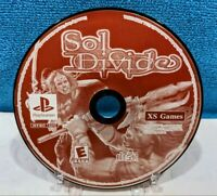 Sol Divide (Sony PlayStation 1, 2002) Disc Only - Tested & Working