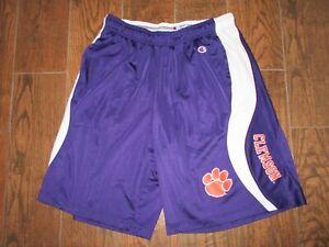 Mens Clemson Tigers Champion Basketball Shorts Sz. XL