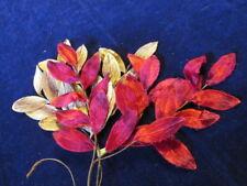 "Vintage Velvet Millinery Flower Collection 2"" Rosy Pink Brown Japan H2234"