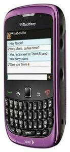 BlackBerry Curve 9330 - Purple (Sprint) Smartphone BRAND NEW IN BOX