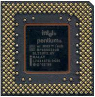 CPU INTEL PENTIUM MMX SL23W 200MHz SOCKET 7