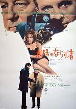 Le SOLEIL DES VOYOUS Japanese B2 movie poster B JEAN GABIN ROBERT STACK 1967