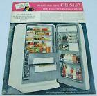 1954 Print Ad Crosley Duo Shelvador Refigerator-Freezers Model RFG-125