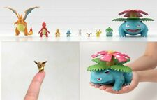 Pokemon Scale World Set Collection | Kanto Starters and Red Trainer