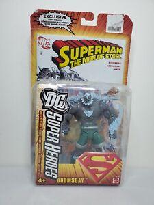 "DC Universe Classics Select Sculpt S3 SUPERHEROES 6"" DOOMSDAY FIGURE Superman"