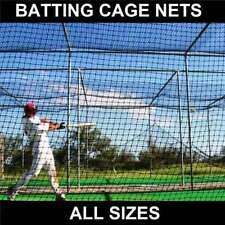 Baseball Batting Cage Nets [14 Sizes] | Heavy Duty HDPP Baseball Softball Net