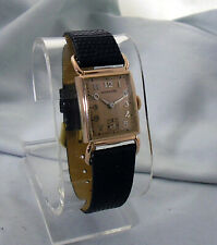 """Hamilton First Edition Essex """"Coral Gold"""" Men's Wristwatch - MINT Extremely Rare"""