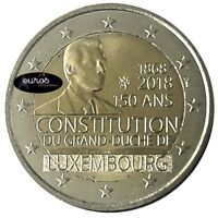 2 euros commémorative LUXEMBOURG 2018 - 150ème anniversaire de la Constitution