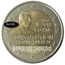 2 euros commémorative LUXEMBOURG 2018 - Anniversaire de la Constitution - UNC