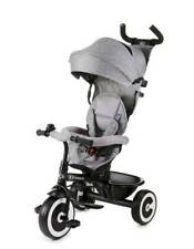 Kinderkraft Dreirad ASTON Kinderdreirad Freilaufrad Kinder Fahrrad Grey