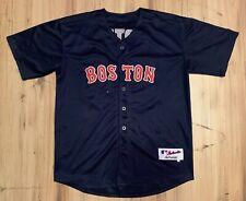 Vintage Majestic Boston Red Sox David Ortiz Authentic Jersey Mens XL (50) Blue